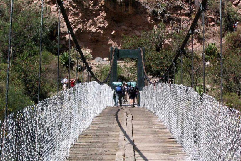 Camino Salcantay, Perú7